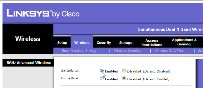 Linsys Router
