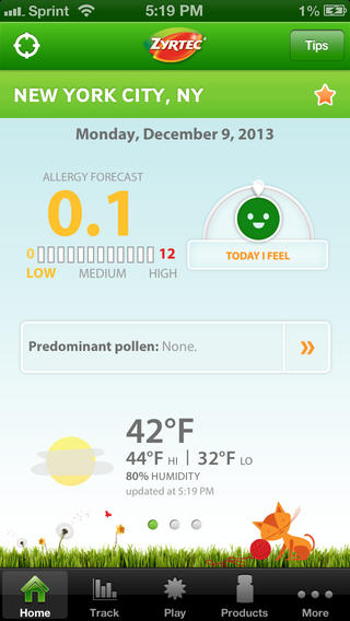 Zyrtec AllergyCast