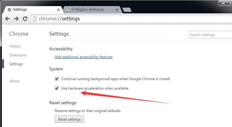 caricamento lento della pagina in Google Chrome