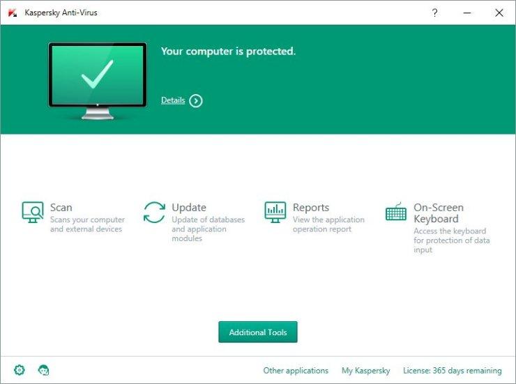 Kaspersky Antivirus 2016