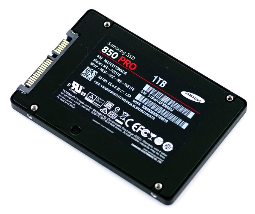 SSD Lato inferiore