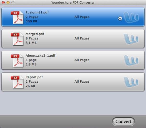Wondershare PDF Converter per Mac