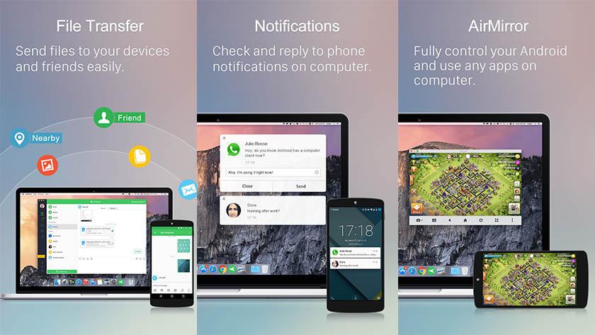 apps per trasferire file da Android a PC
