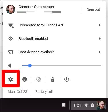 VPN Chromebook