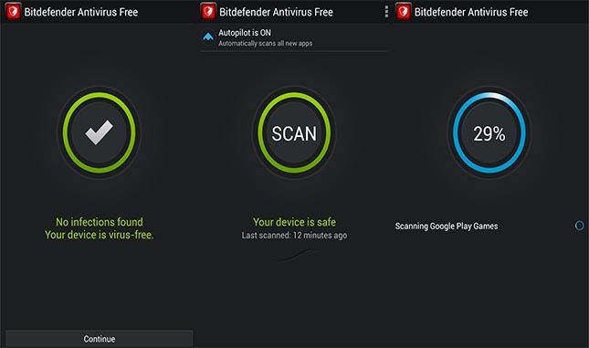 Bitdefender Antivirus gratuito per Android