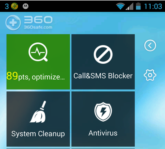 Qihoo 360 Mobile Safe