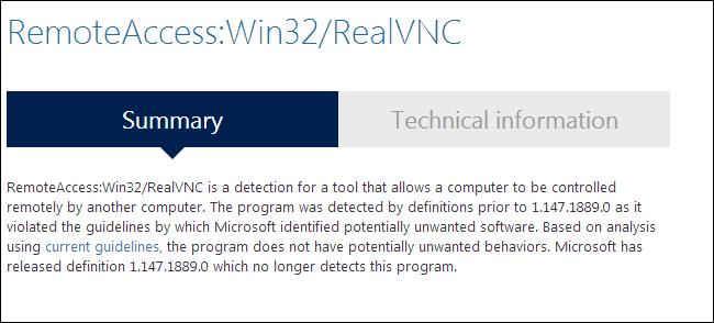 Come sapere se un virus è in realtà un falso positivo