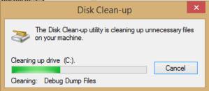 pulisci lo spazio su disco