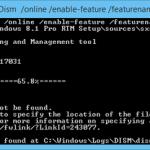 0x800F0906 e 0x800f081f Messaggi di errore durante l'installazione di .NET Framework 3.5 in Windows 8 / 8.1