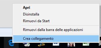 Collegamento rapido Microsoft Edge