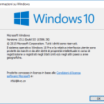 Come trovare il numero di build di Windows 10?