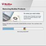 Come disinstallare completamente McAfee Internet Security da Windows 10