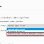 Come Aprire Sempre le Schede dell'Ultima Sessione di Navigazione in Firefox, Chrome e IE