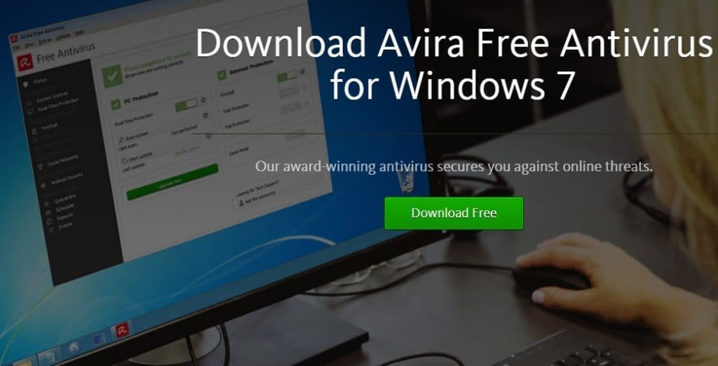 Avira Antivirus per Windows 7