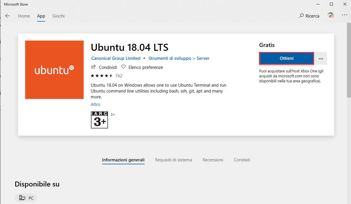 Come installare Ubuntu su Windows 10